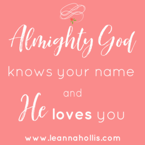 God knows our name