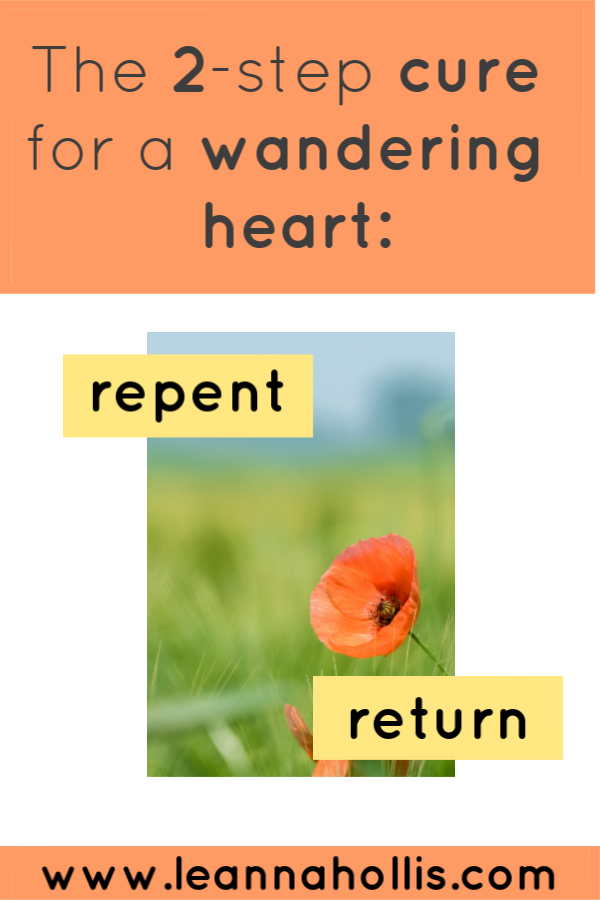 Repent and return
