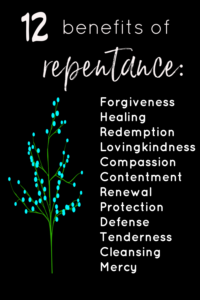 repentance benefits