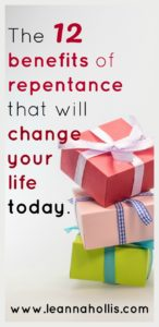 12 benefits of repentance