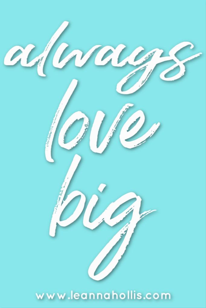 friendship love big