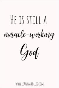 miracles Pinterest pin