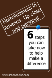 six steps to take now to make a difference in homelessness in America