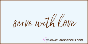 Community Outreach Resources: serve with love