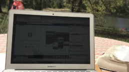 Blog and writing from home